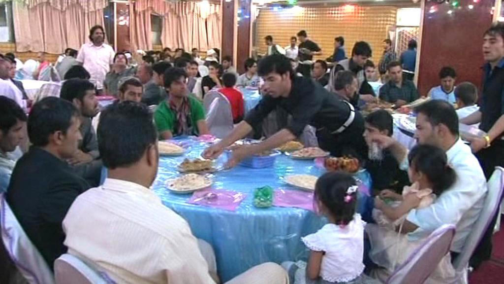 Afghánské svatby