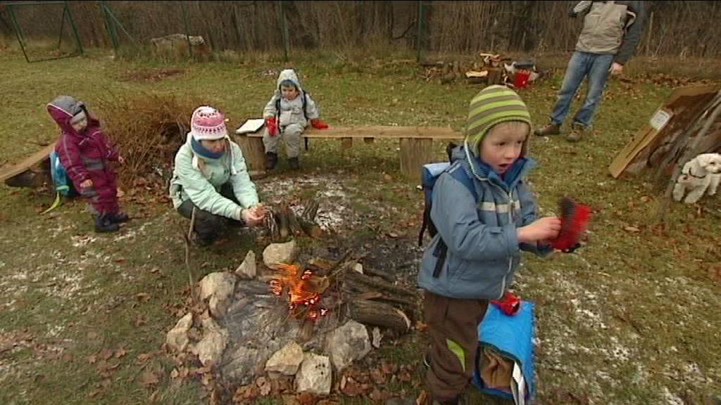 Lesní školka v Ostravě-Heřmanicích