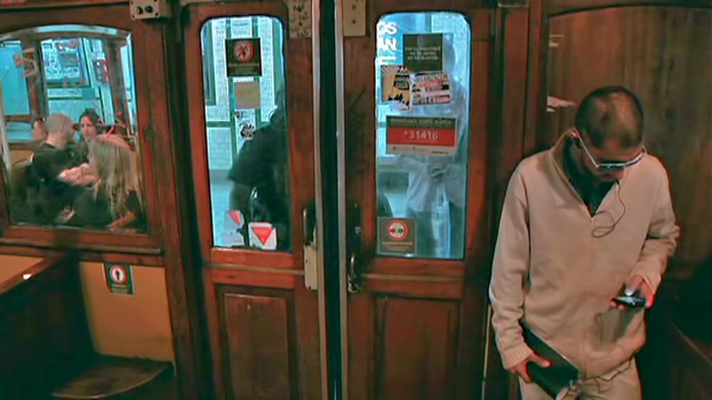 Staré vagony metra v Buenos Aires