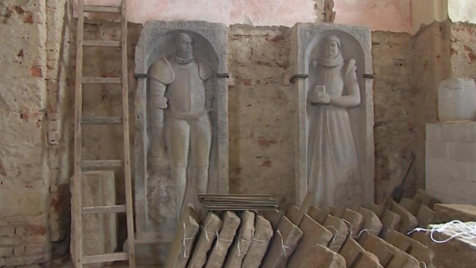 Interiér kostela prochází rekonstrukcí