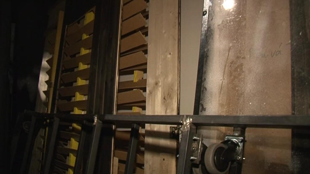 Divadlo nemá dostatečné skladovací prostory