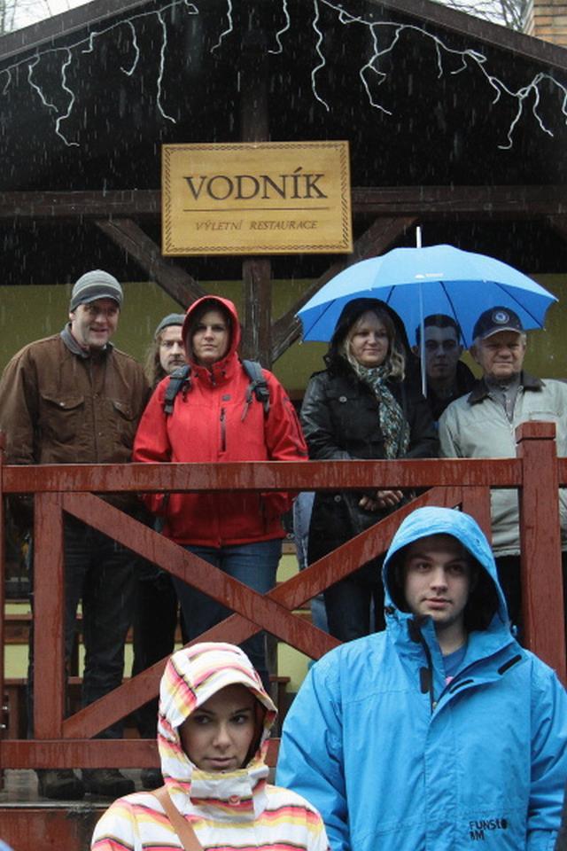 Setkání otužilců ve Vimperku
