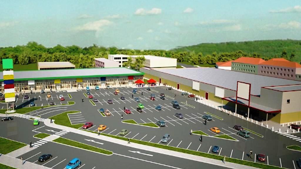 Plánované obchodní centrum