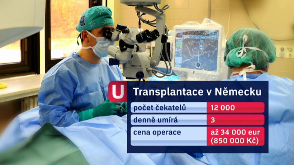 Transplantace v Německu