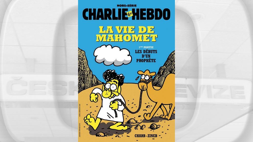 Komiks časopisu Charlie Hebdo