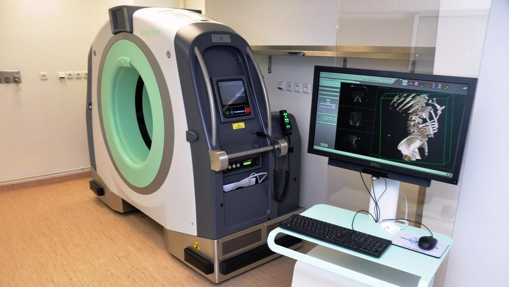 Mobilní CT scanner v liberecké nemocnici