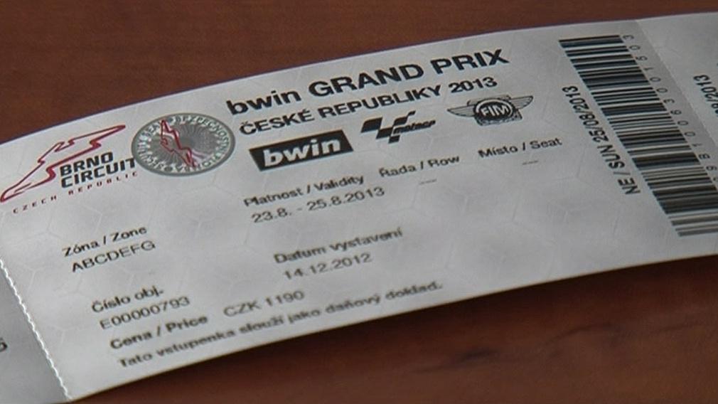 Vstupenky na mistrovství silničních motorek v Brně jsou už v předprodeji