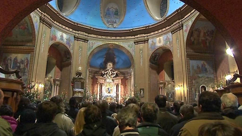 Novoroční mše v bazilice na Hostýně