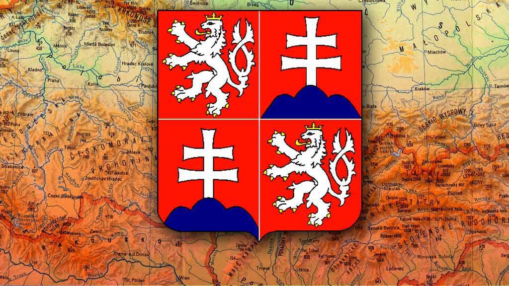 Státní znak České a Slovenské Federativní Republiky