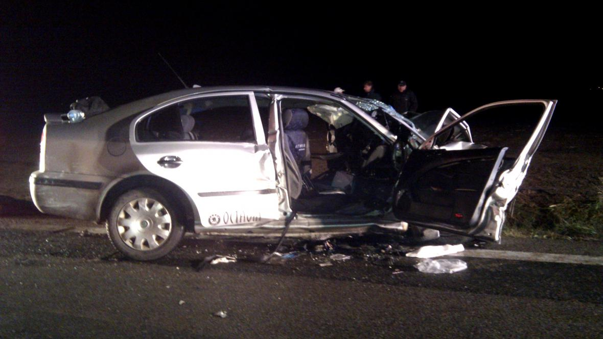 Nehoda u Krasejovky
