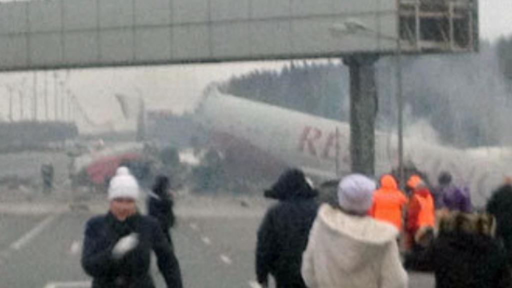 Havárie na letišti Vnukovo