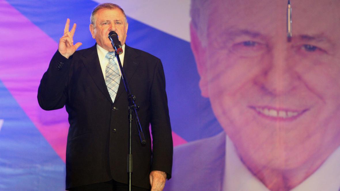 Vladimír Mečiar v roce 2011
