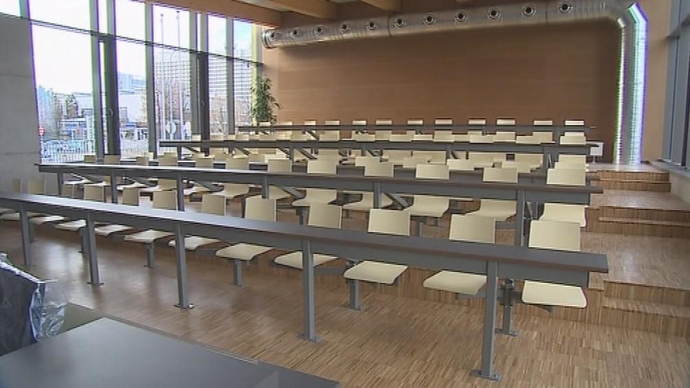 Součástí bohunického centra je také přednáškový sál