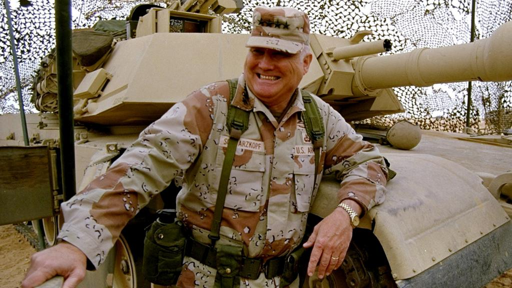 Generál Norman Schwarzkopf