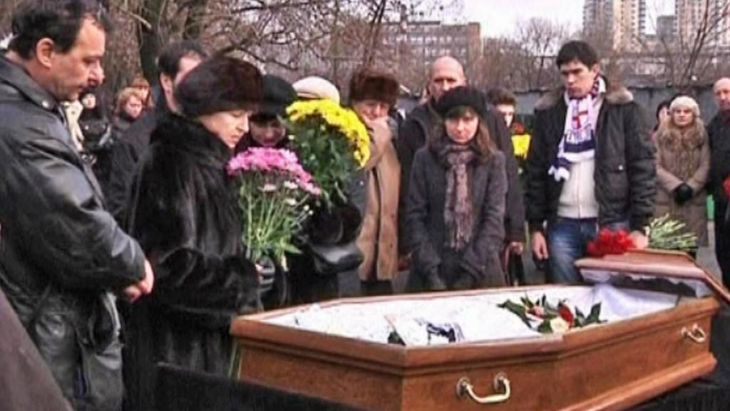 Pohřeb Sergeje Magnitského