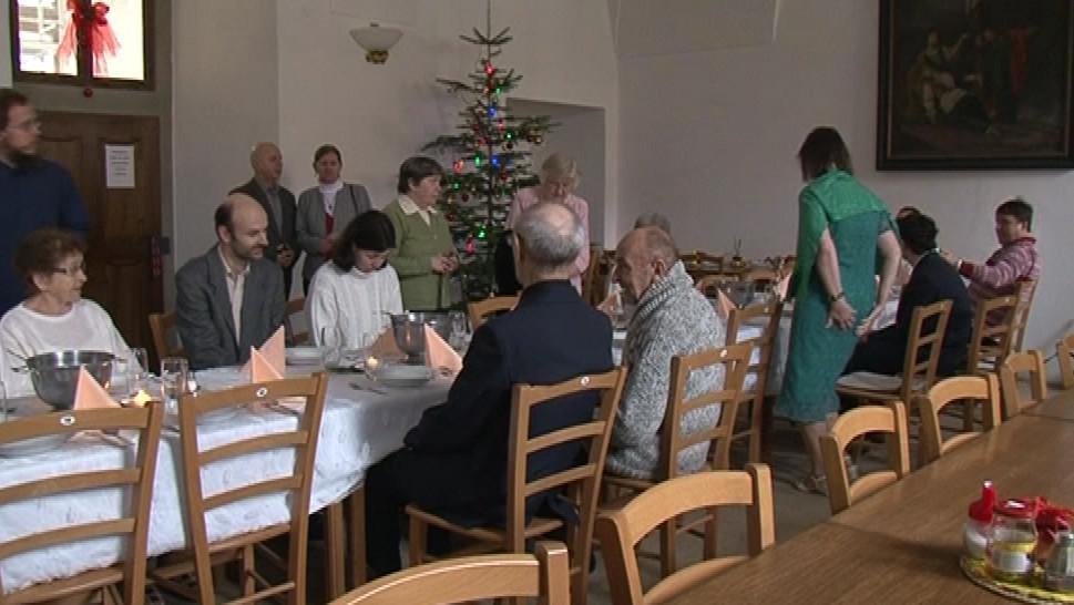 Dvě desítky věřících se rozhodly strávit svátky s premonstráty