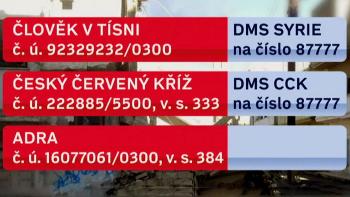 DMS pro Sýrii