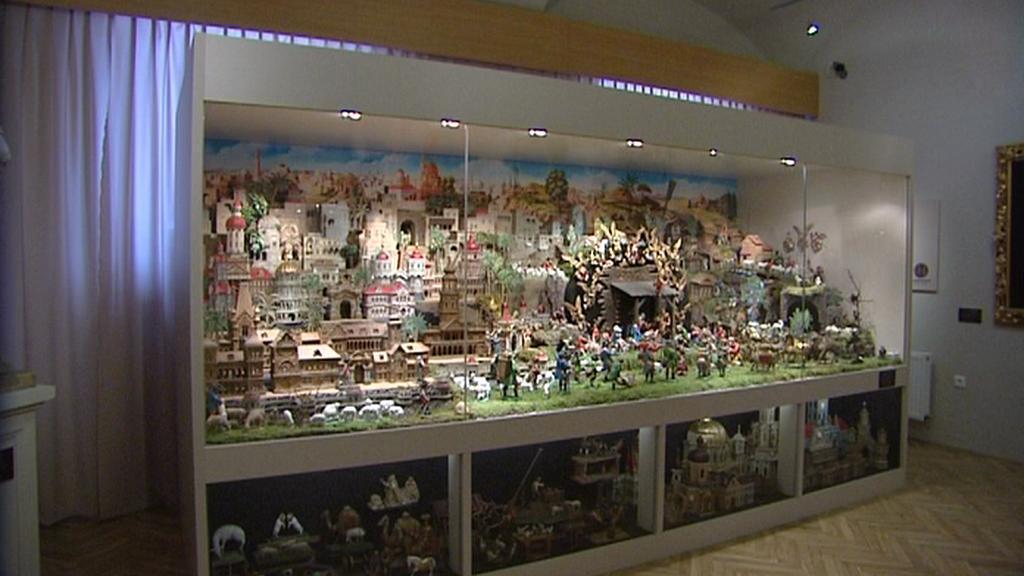 Muzeum ve Svitavách vystavuje vzácný betlém