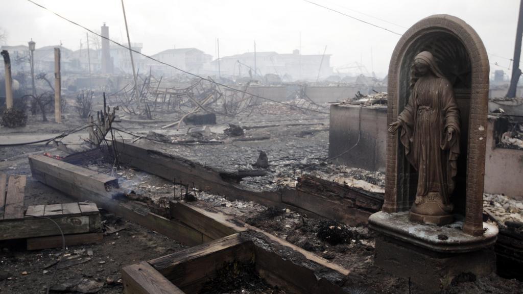 Sandy způsobila na několika místech New Yorku požáry