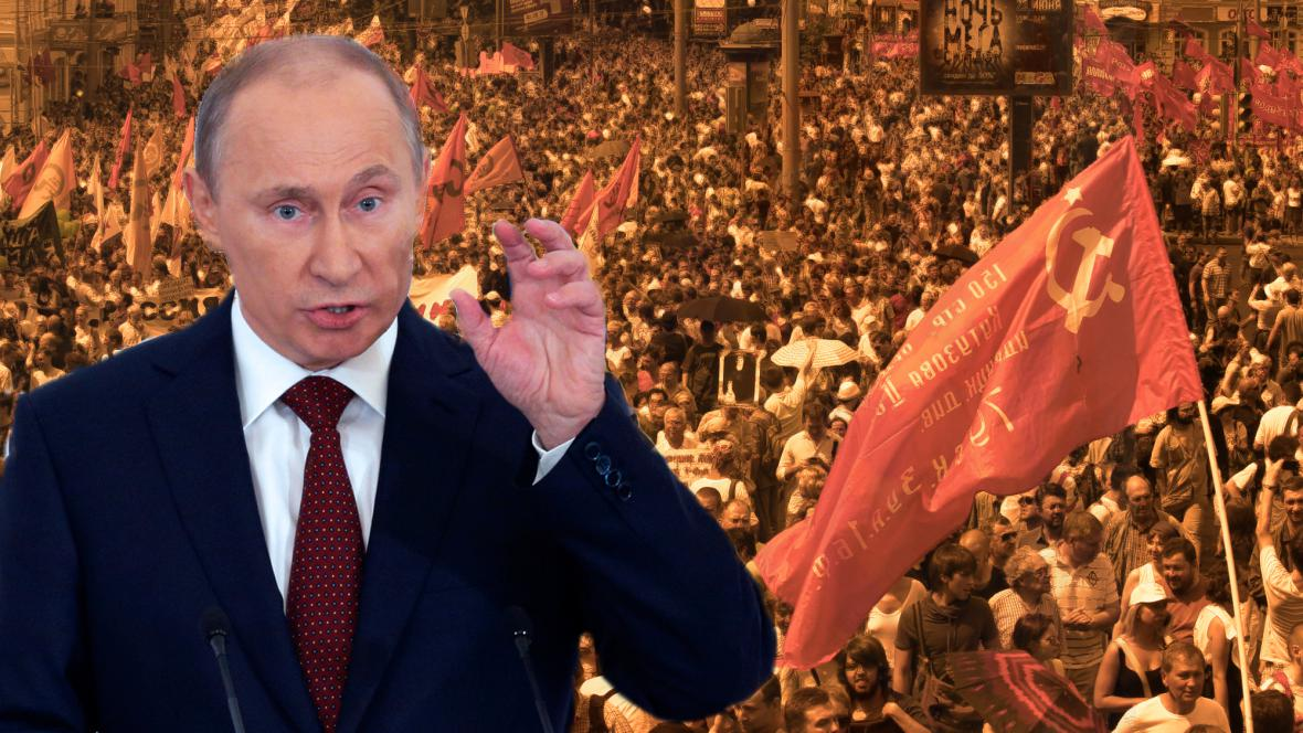 Kremelská mocenská rošáda vyhnala Rusy do ulic
