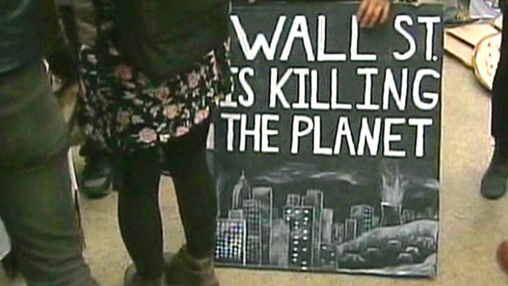 Protesty na Wall Street