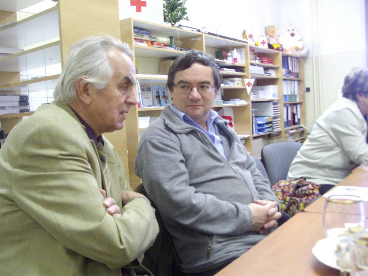 Vánoční setkání dárců krve v Prachaticích