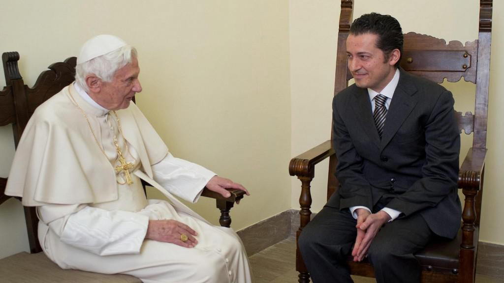 Papež Benedikt XVI. a Paolo Gabriele