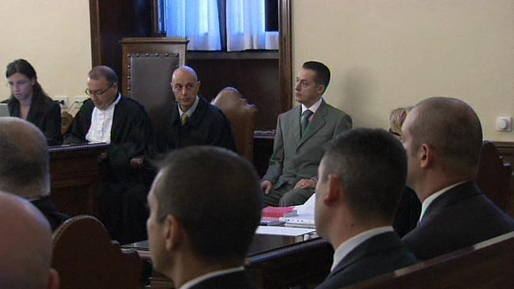 Paolo Gabriele u soudu