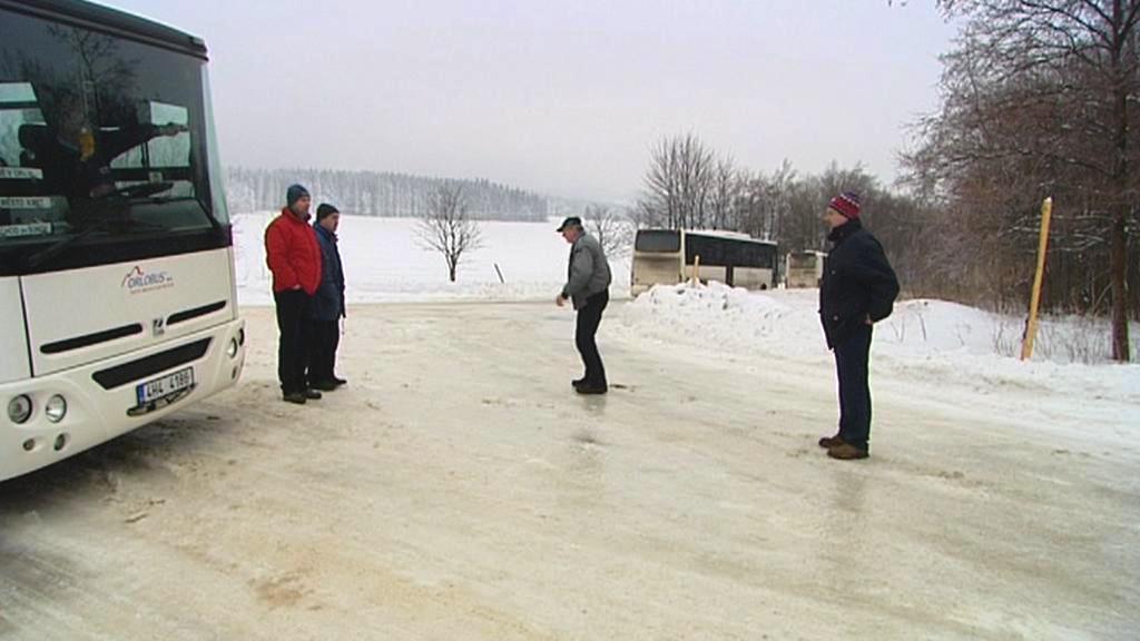 Namrzlá silnice