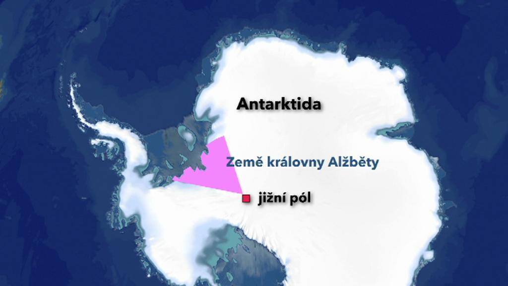 Část Antarktidy patřící Alžbětě II
