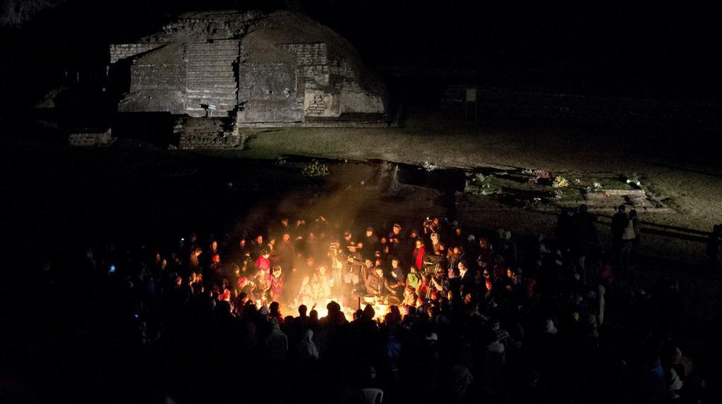 Očekávání mayského proroctví v guatemalském Tepkanu