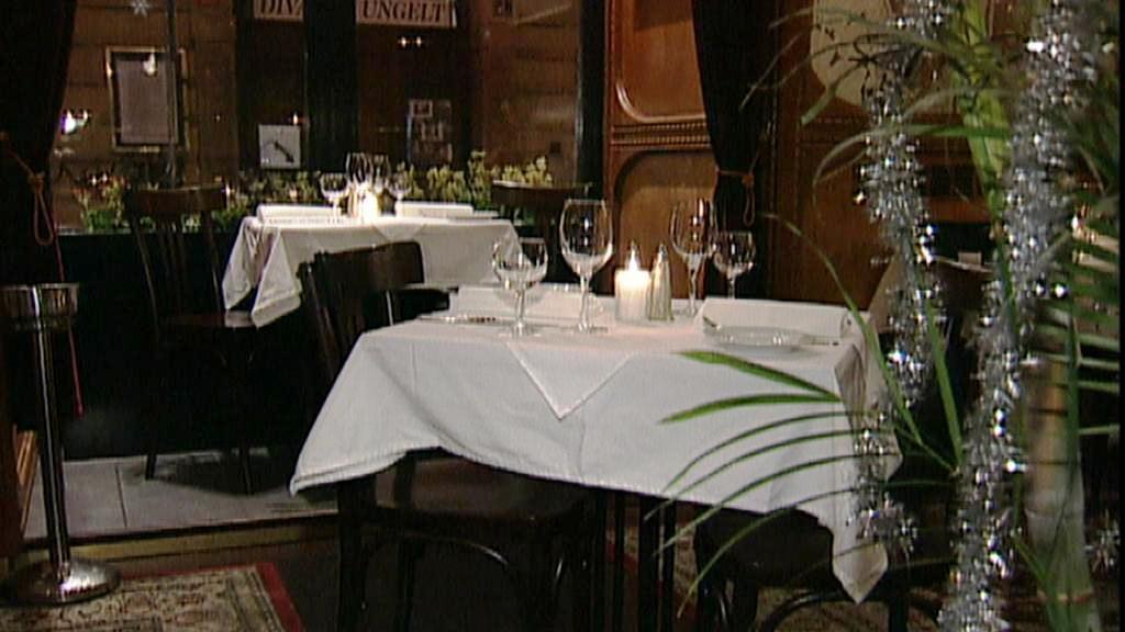 Štědrovečerní večeře v restauraci