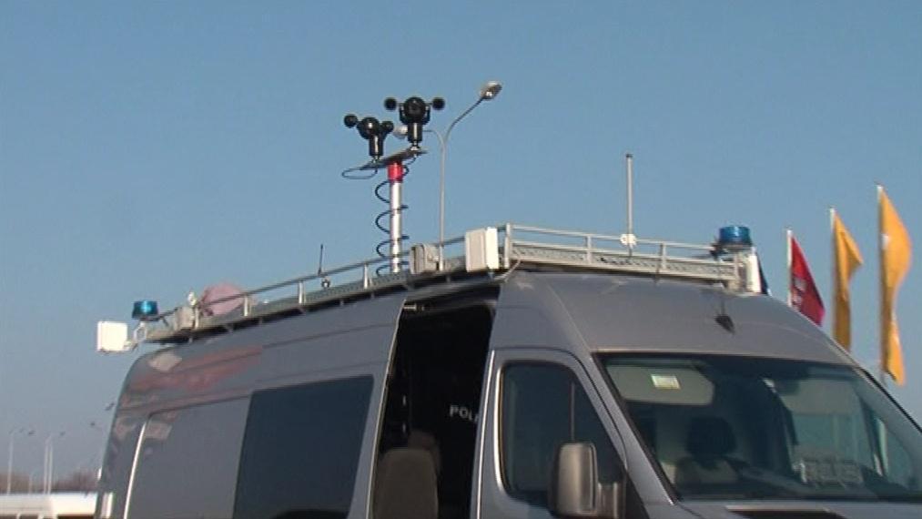 Policejní monitorovací auto