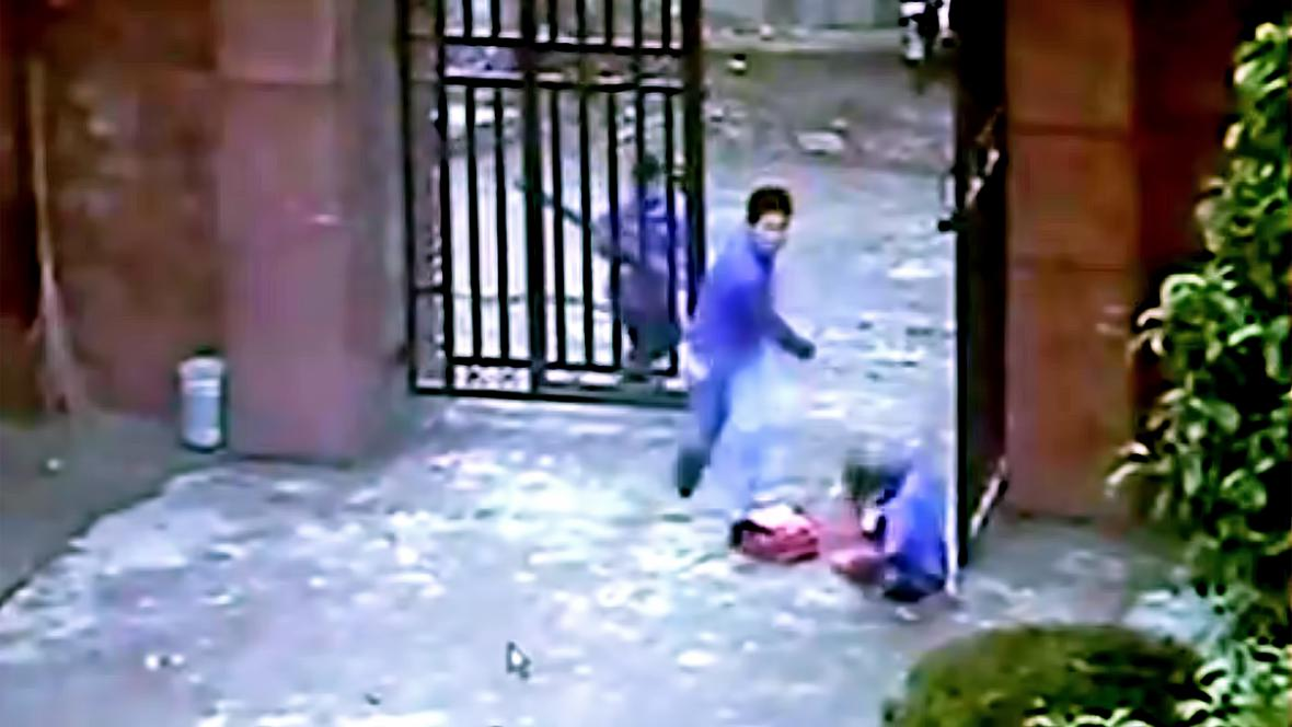 Útok Min Jing-ťüna ve škole v Che-nan