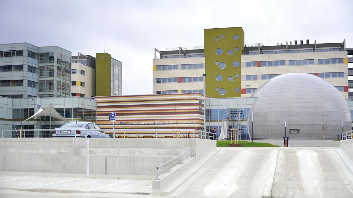 Nový komplex FEKTu VUT v Brně