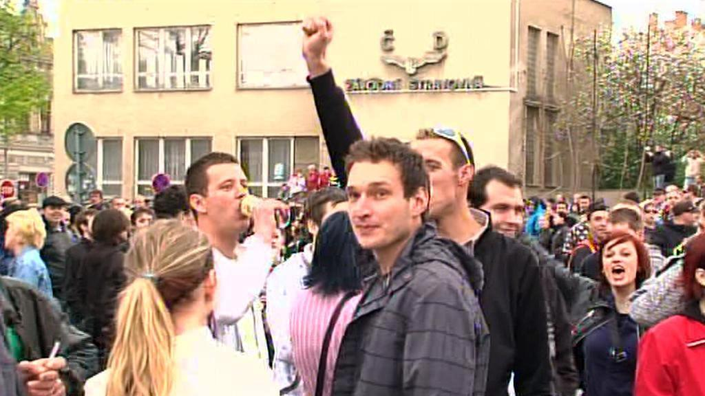 Účastníci demonstrace