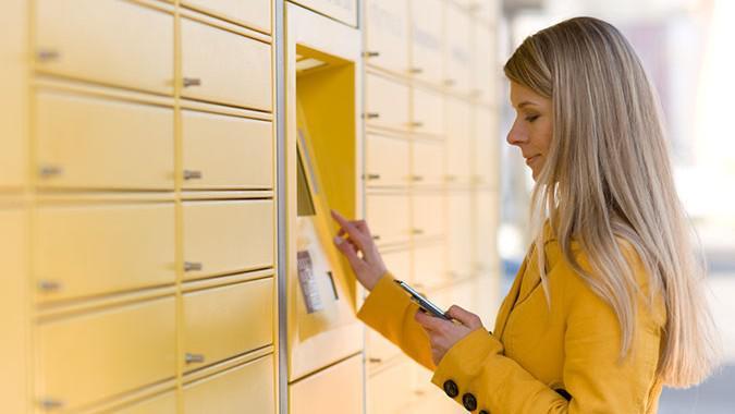 Samoobslužný poštovní automat