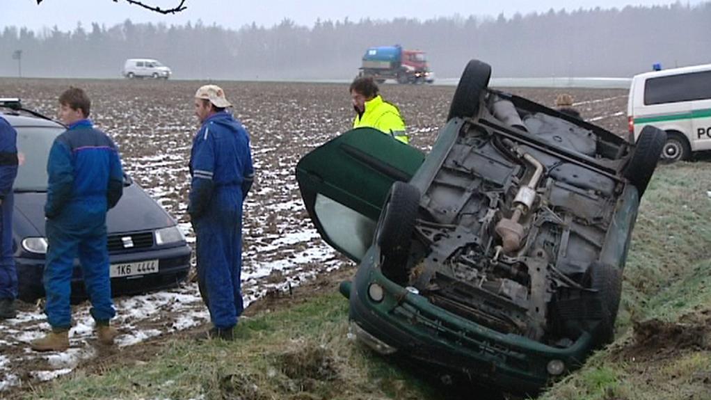 Nehoda na Plzeňsku