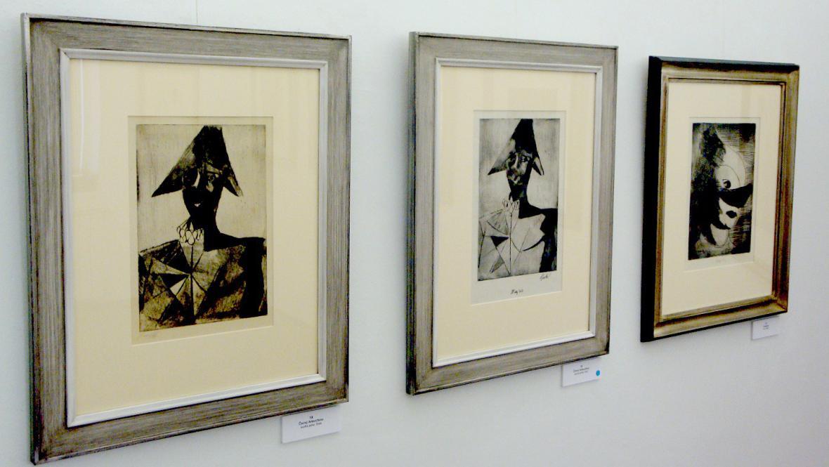 Výstava Františka Tichého v Galerii Moderna