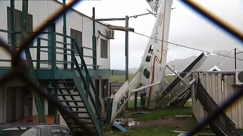Přes Fidži se přehnal cyklon Evan