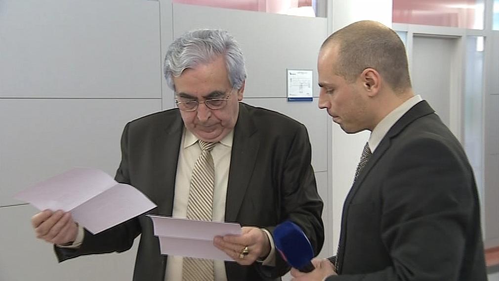 Jaroslav Kučera zpovídaný redaktorem ČT