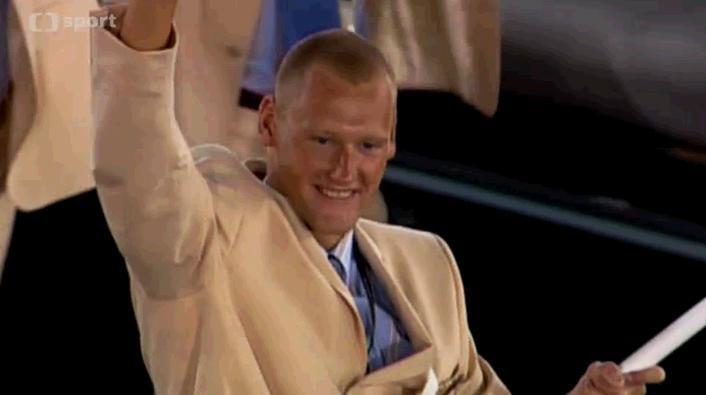 Na olympiádě v roce 2004 byl Svoboda českým vlajkonošem