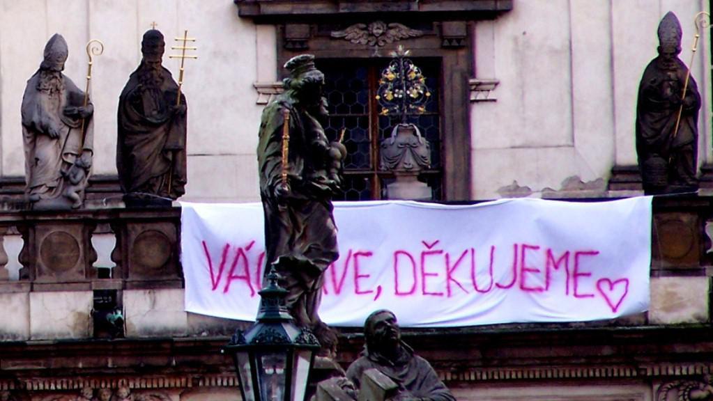 Poslední odcházení Václava Havla