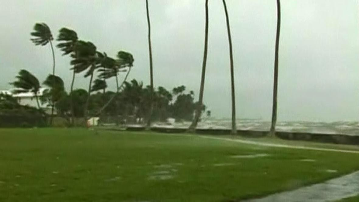 Cyklon Evan zasáhl Fidži