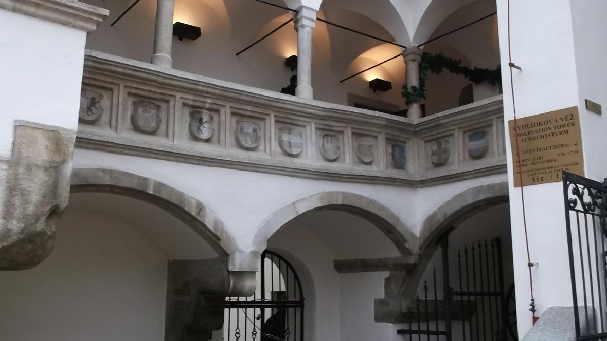 Nádvoří Staré radnice