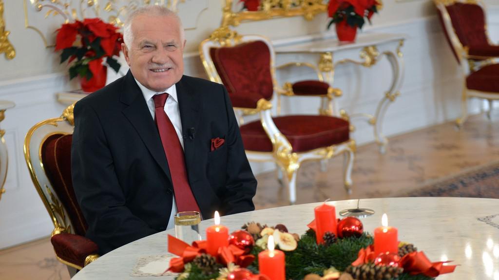 Prezident Václav Klaus v Partii