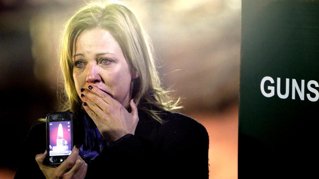 Zármutek po střelbě v Newtownu