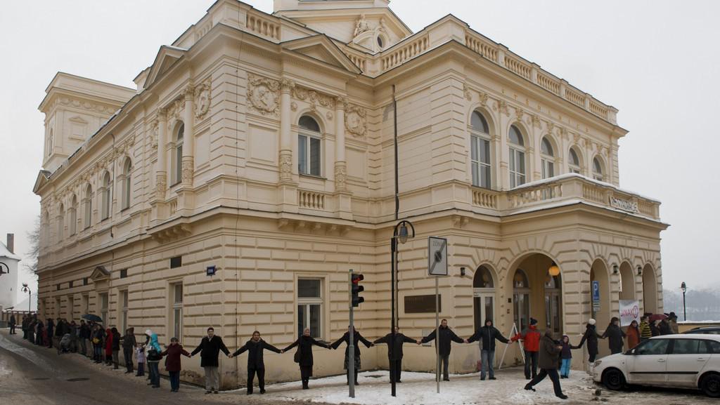 Obrana kulturního domu Střelnice