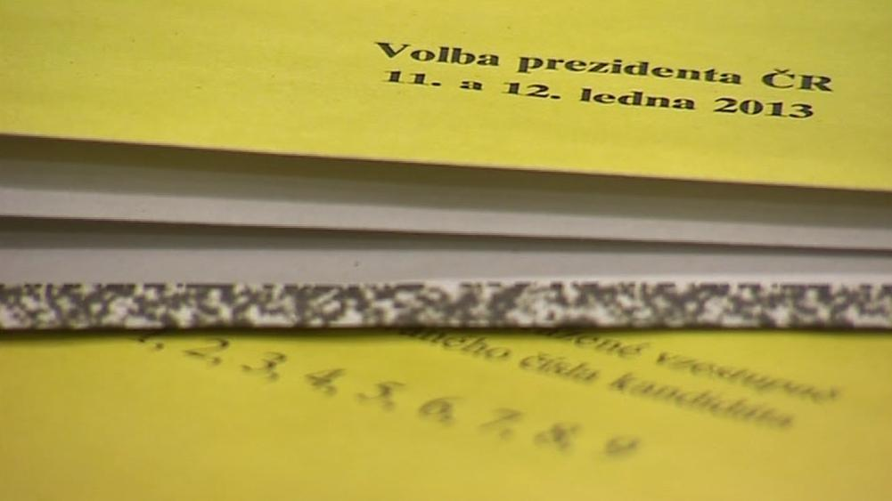 Na volební lístky padne až 250 tun papíru
