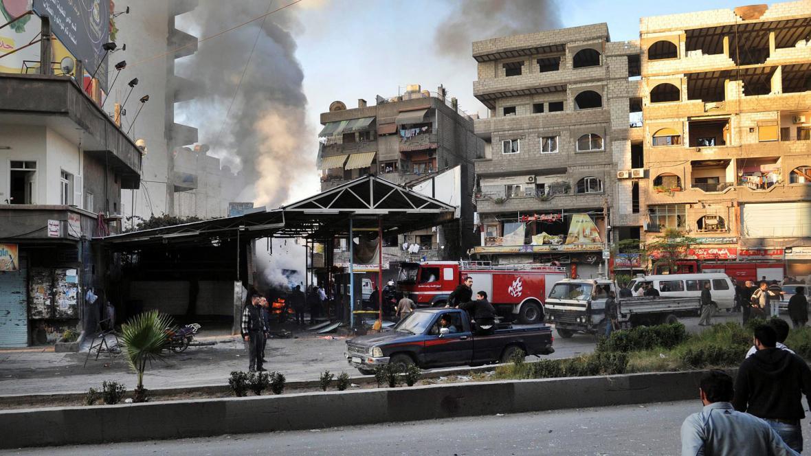Atentát v Damašku